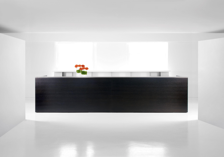 Modern Minimalist Desk tuohy uffizi reception desk- modern, minimal | design/decor