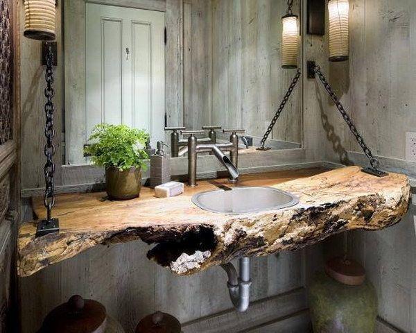 Rustikale Bauernhaus Badezimmer Ideen - Diyselbermachen