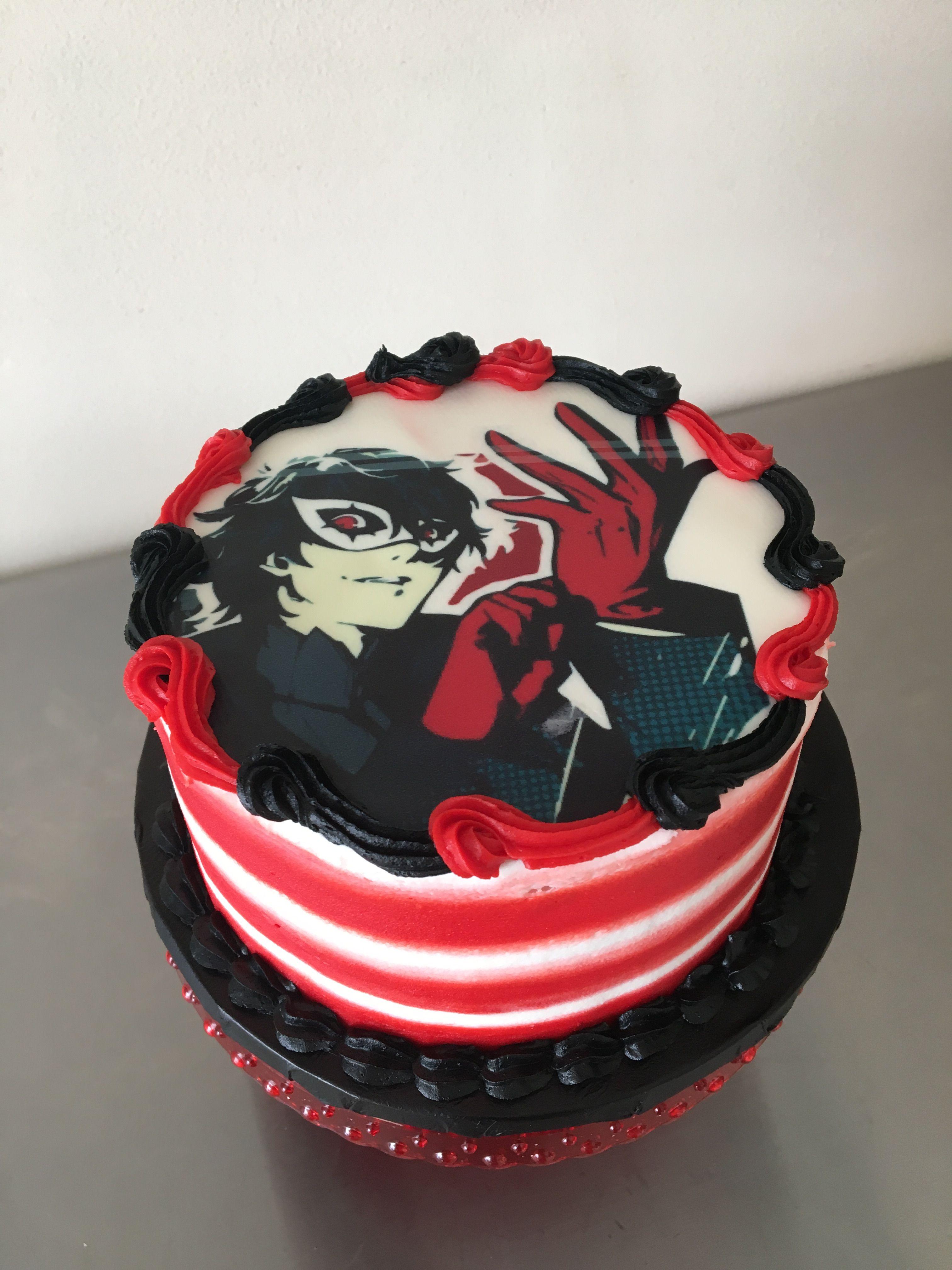 Resultado de imagem para persona cake