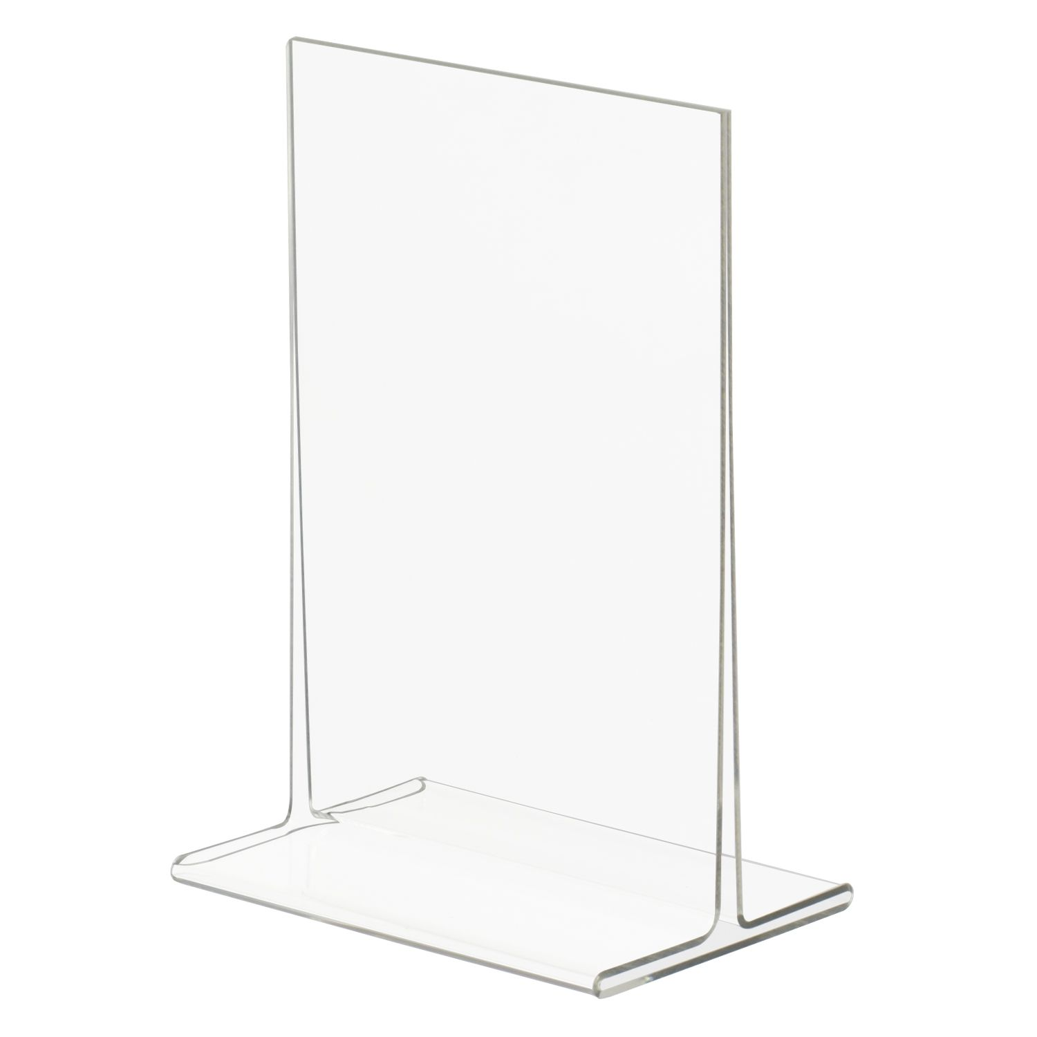 4x6 Top Loading Double Sided Acrylic Sign Holder Acrylic Sign Sign Holder Acrylic Holders