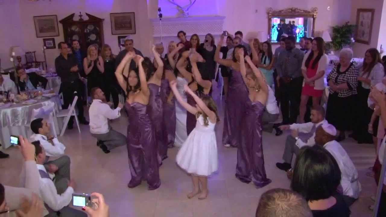Best Surprise Hip Hop Wedding Party Dance