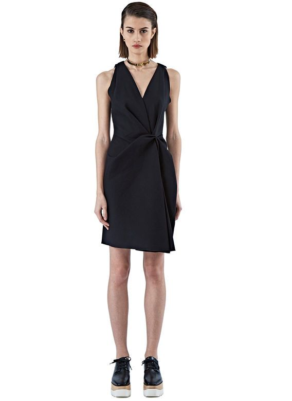 Pre SS16: Lanvin Ruched Sleeveless Dress