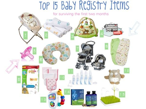 Top 15 Baby Registry Items (plus other Baby Essentials) - Eat - baby registry checklists