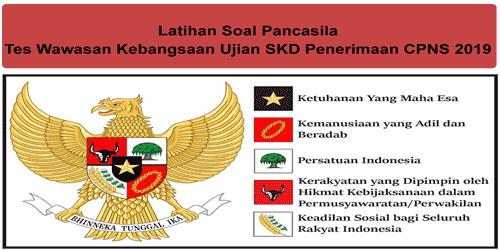 Latihan Soal Pancasila Twk Skd Cpns 2019 Keadilan Sosial Hikmat Belajar