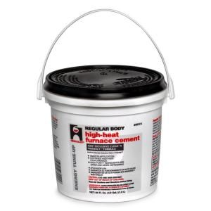 Oatey 1 2 Gal Furnace Stove Cement 35515 At The Home Depot Furnace Cement Stove