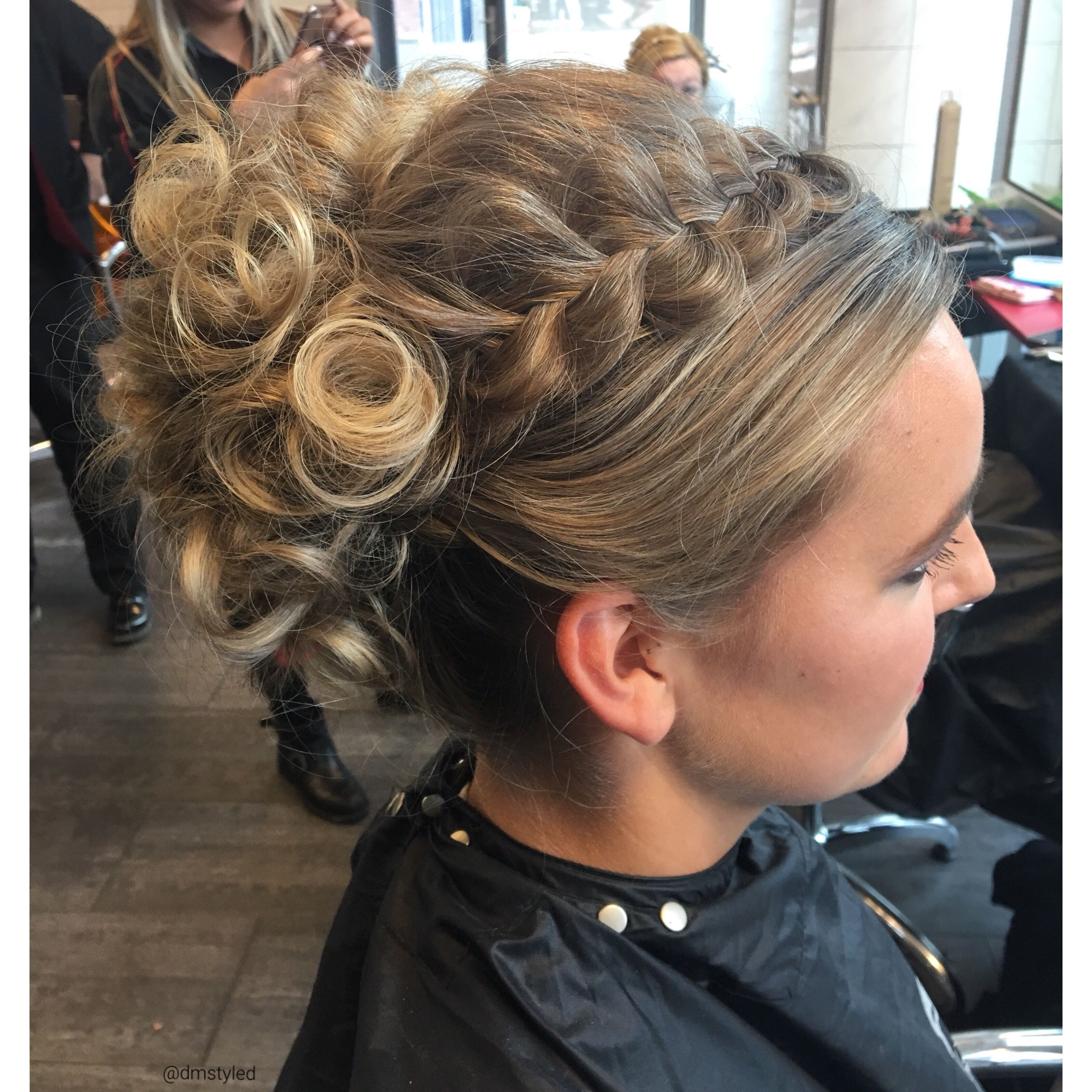 Updo with a braid hair styles pinterest updo and hair style