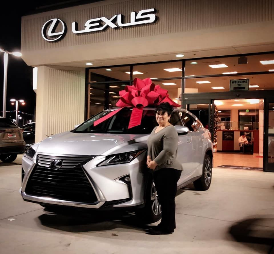 Today You Will Shine Maria Congratulations On Your New Car Thank You For Your Business And Welcome To Dchlexusofoxnardfamily 3 New Cars Lexus Oxnard