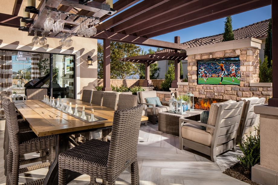 Toll Brothers Courtyard Outdoor Living In 2019 Cozy
