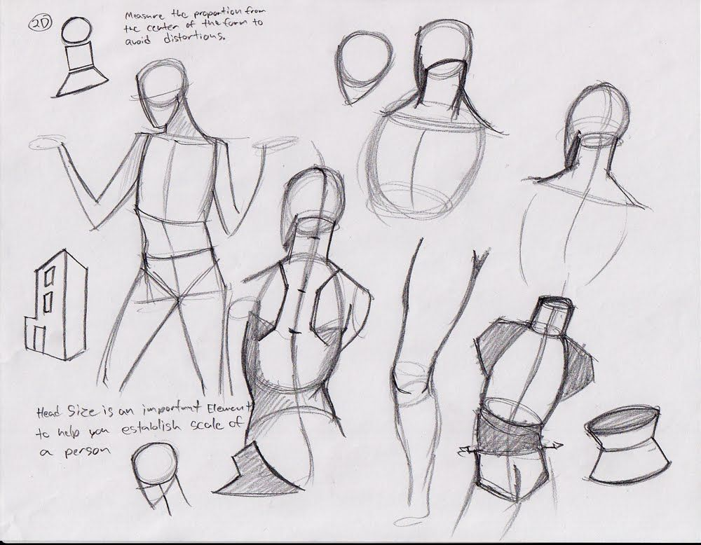 Tuxedo Marsh: CDA Notes Dump From Analytical Figure Drawing with Kevin Chen and Figure Invention with Rad Sechrist