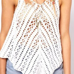 Crochet tunic PATTERN, designer crochet tunic pattern, beach tunic PDF #crochettunicpattern
