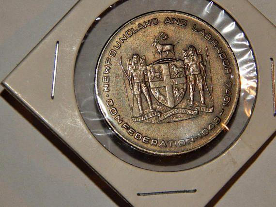 25th anniversary of confederation coin newfoundland