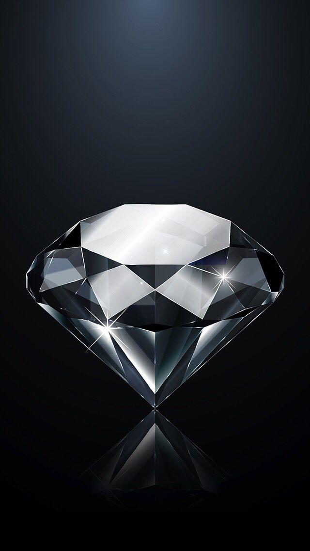 iPhone wallpaper diamond Diamante dibujo, Fondos de