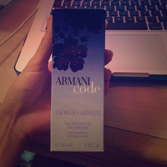 GIORGIO ARMANI CODE PERFUME Got it as a gift used only 3-4 times. Armani Exchange Other