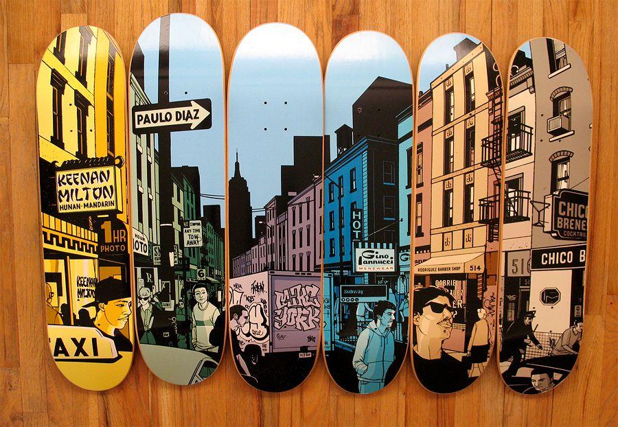 Evan Hecox Chocolate Og Street Series Skateboard Deck Art Skateboard Wall Art Skateboard Design