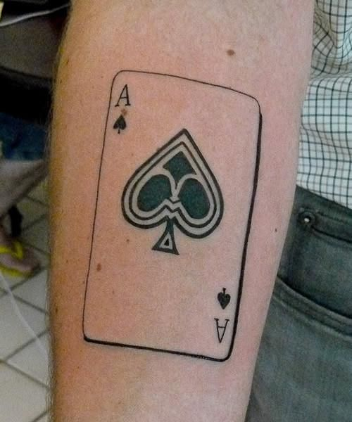 16 Amazing Aces Tattoos Ideas Plantillas De Tatuajes Tatuajes Bolsas De Compras