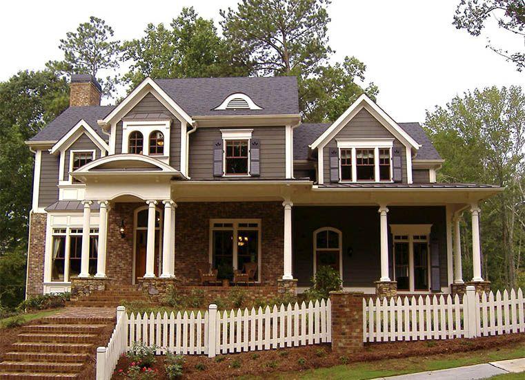Fachadas de casasde campo americanas buscar con google for Casas americanas fachadas
