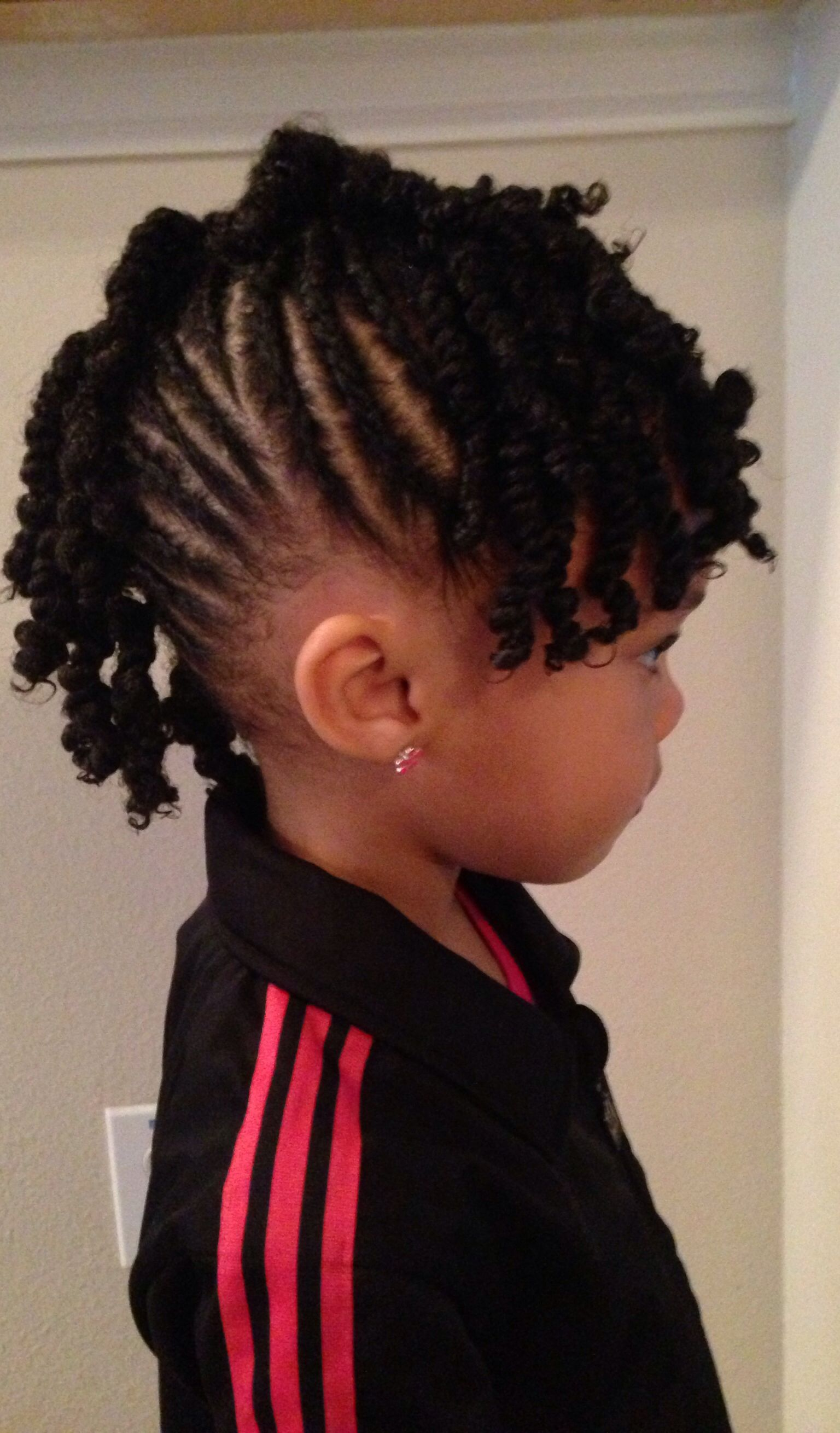 Cute Natural Hairstyles For Girls By Prim Mobile Salon Dfw