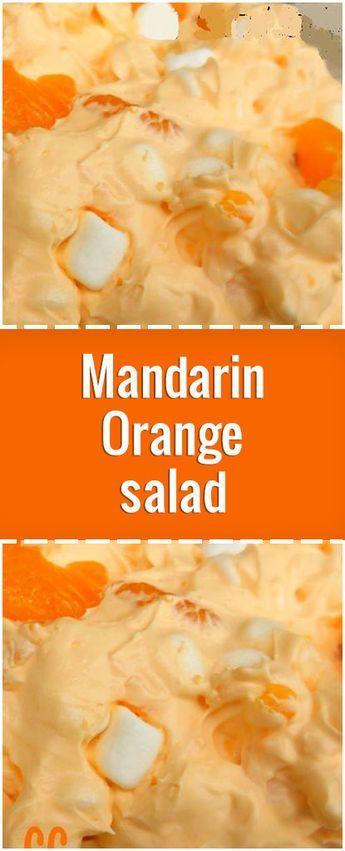 Mandarin Orange salad – Fresh Family Recipes