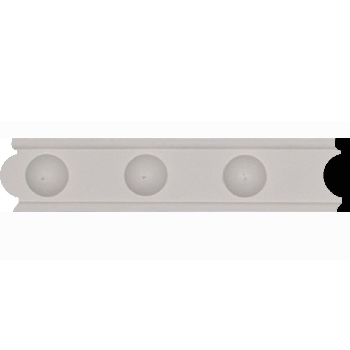 4 Inch Chair Rail Part - 48: Amazon.com: Ekena Millwork CHA01X01AS Ashford Chair Rail, 1 3/4-