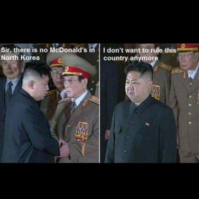 Kim Jong Ill wouldn't take this crap