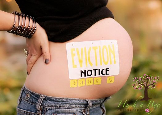 Photo Shoot Ideas: Belly Bump Bumper Stickers
