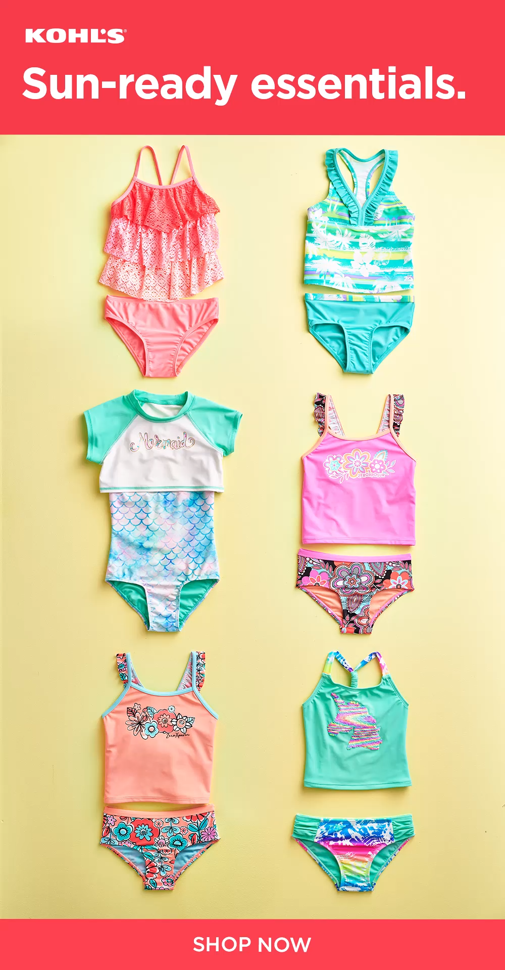 bdc00c32be60c Get your kids ready for sunny days ahead with swimsuits, sandals and  outdoor toys at