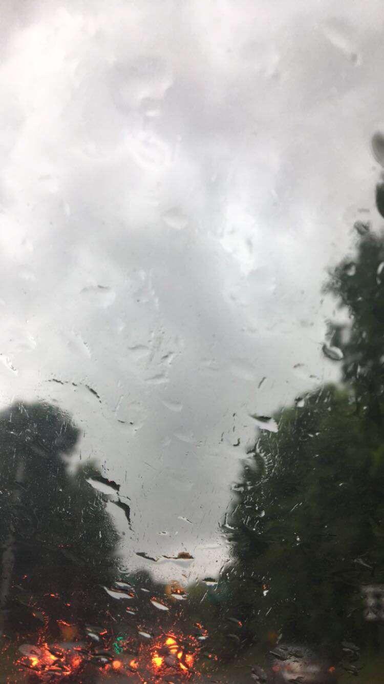 Rain Phone Background By Me Langit Latar Belakang Gambar