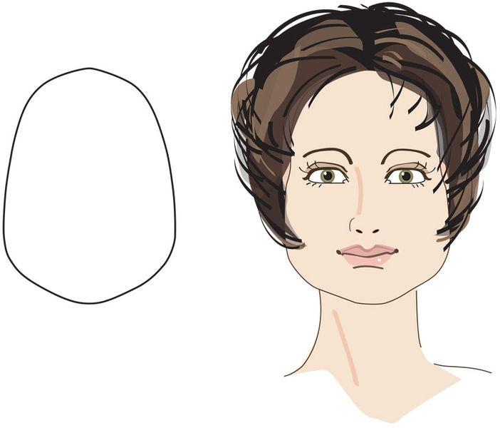 Frisuren Fur Trapezformige Gesichtsformen Frisur Gesichtsform Frisuren Gesichtsform