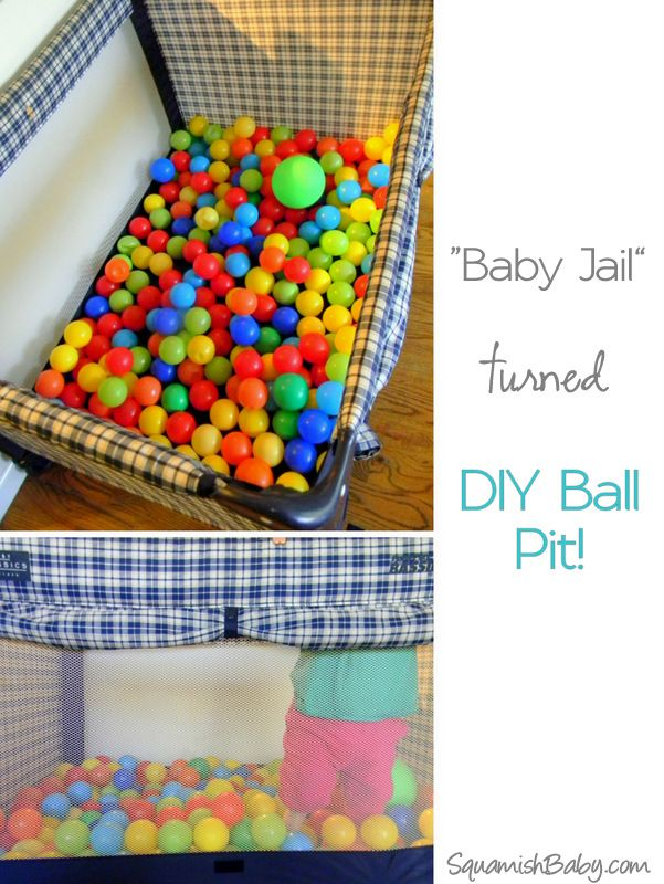 diy ball pit great for rainy day fun toddler birthday party