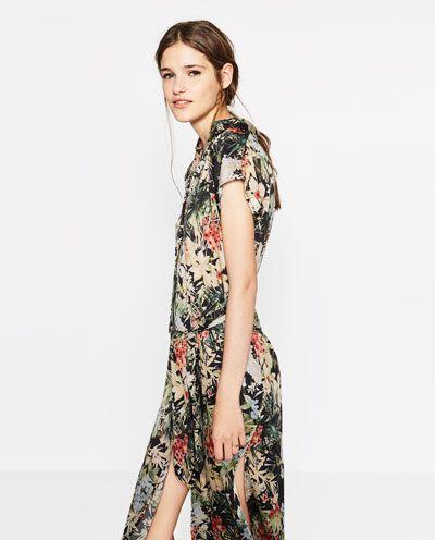 f37c0119 LONG PRINTED TUNIC-DRESSES-WOMAN | ZARA United States | shopping ...