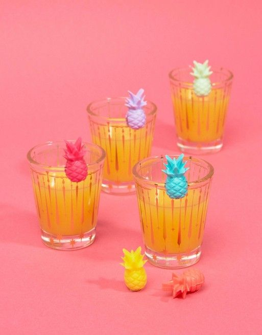 Sunnylife Pineapple Drinks Markers