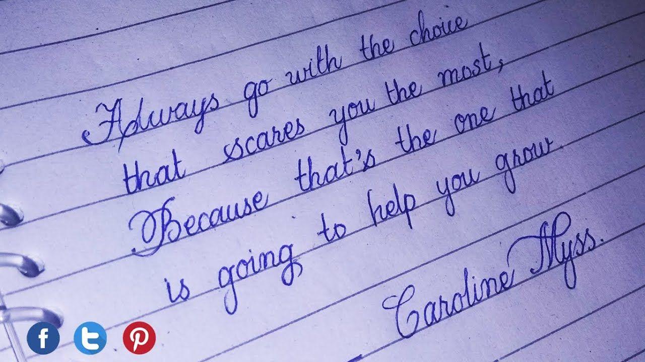 cursive handwriting for beginners  stylish writer in 15