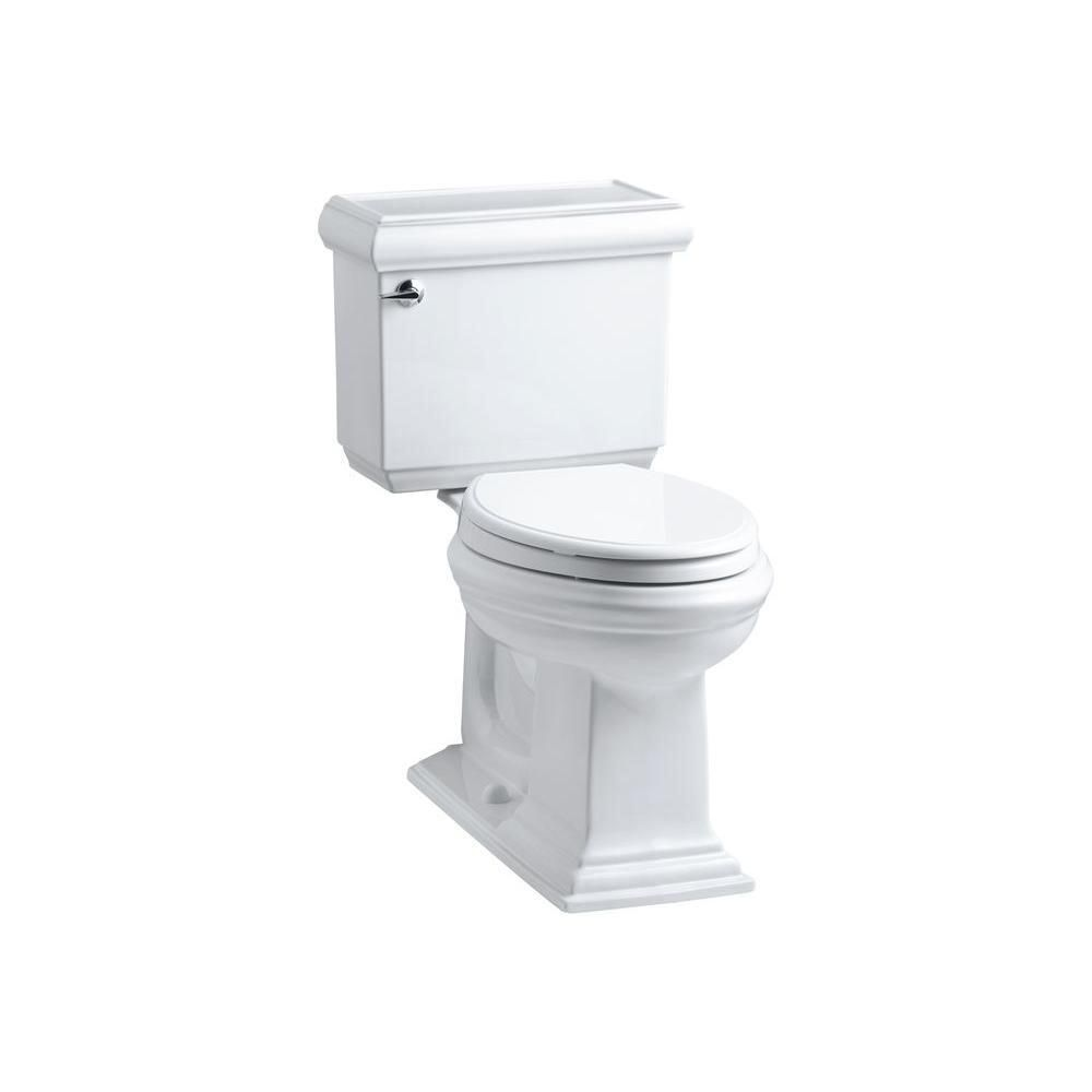 Memoirs Classic 2 Piece 1 6 Gpf Single Flush Elongated Toilet With