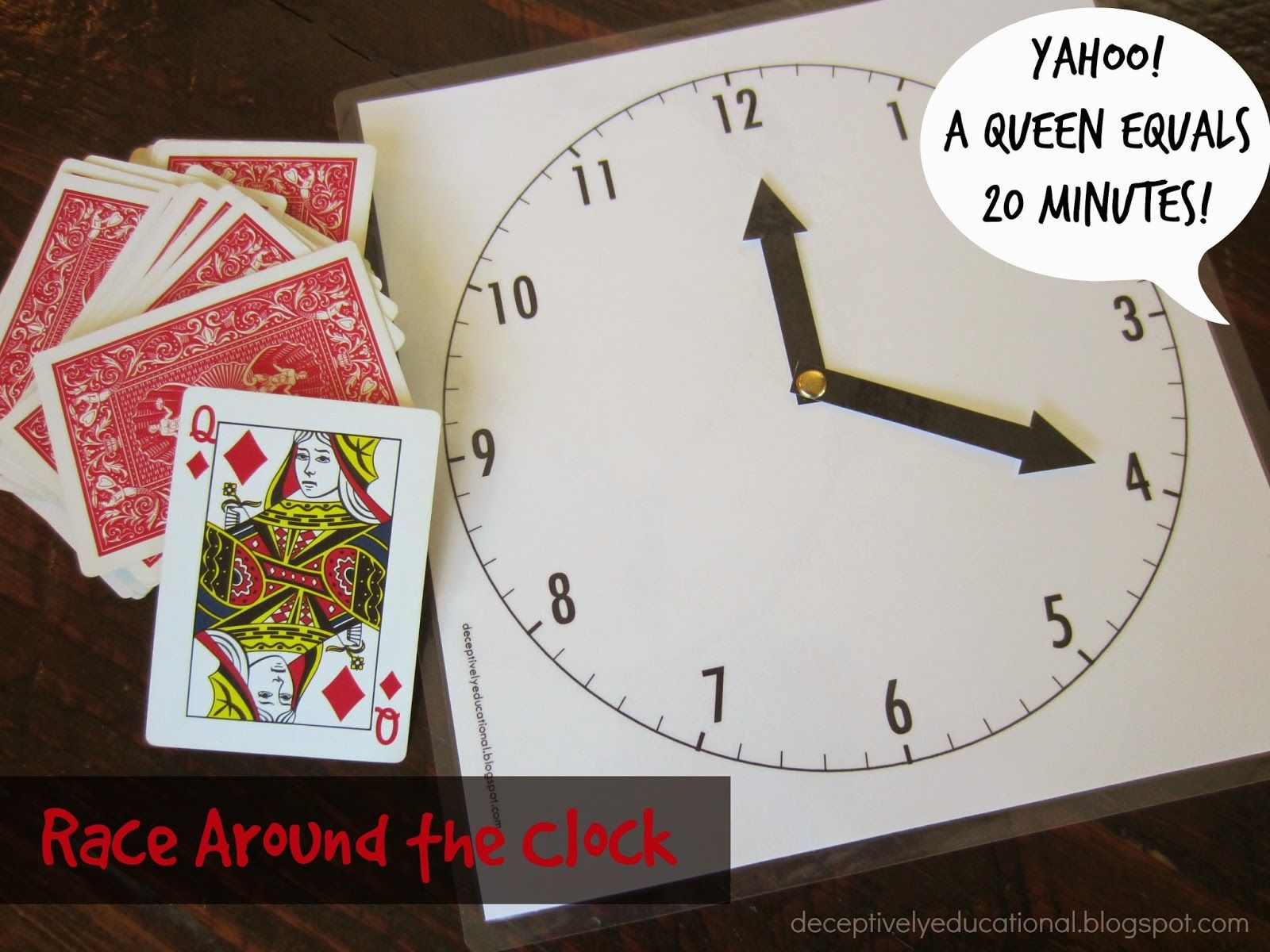 Race Around the Clock Game (Relentlessly Fun, Deceptively ...