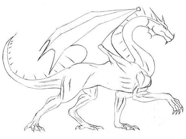 Resultado De Imagen Para Como Dibujar Dragones Paso A Paso