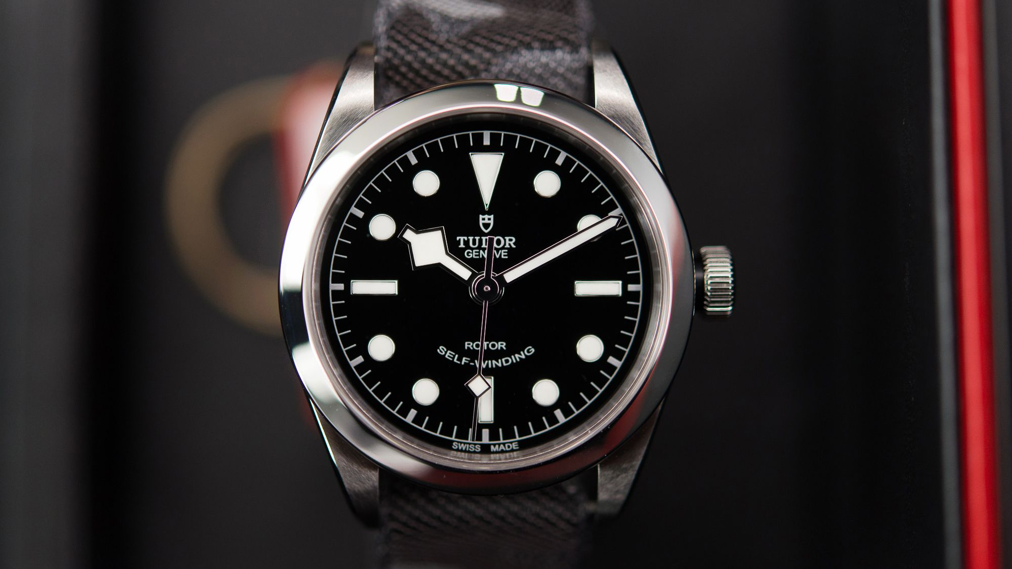 This is the best watch I have seen so far at Baselworld – there, I said it. Or maybe it's just my favorite. But either way. You may have read about the new Tudor Heritage Black Bay 36 yesterday – well, I just had a chance to see it in person, and I can absolutely confirm that in the metal, and on the wrist, it's just as awesome as it looks in the official press images – maybe more so.