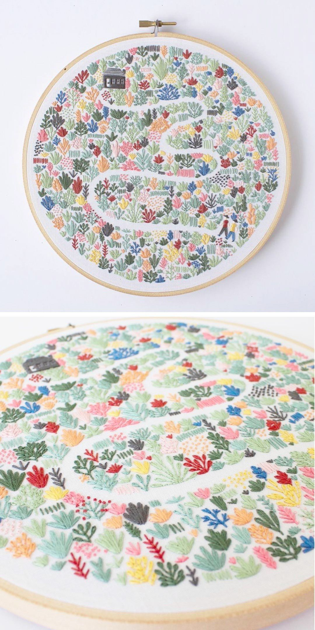 Modern Embroidery Patterns