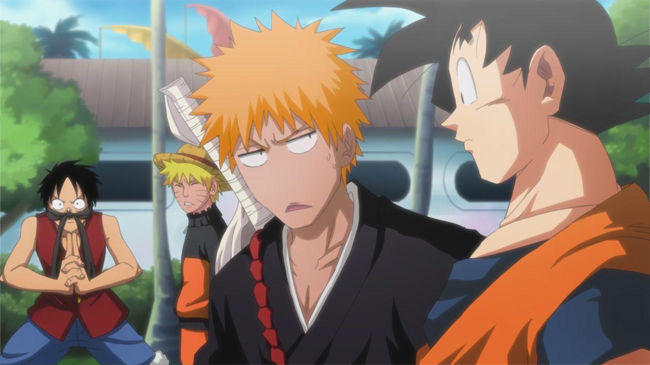 Anime Crossover Anime Anime Funny