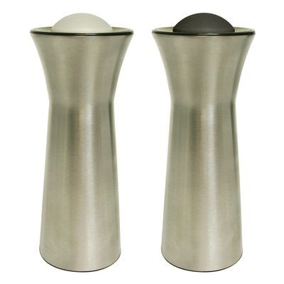 KitchenArt 2 Piece Salt and Pepper Shaker Set