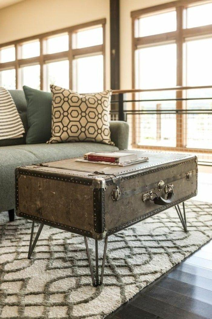 5 Diy Moebel Do It Yourself Tisch Aus Altem Koffer Brauer Sofa