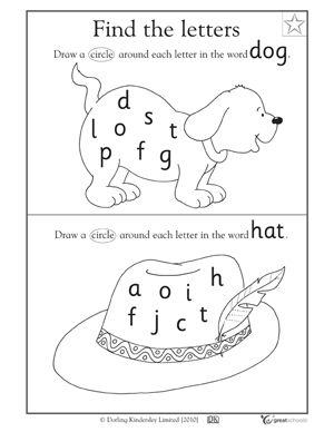 Pre K Reading Worksheets Worksheets For School - pigmu