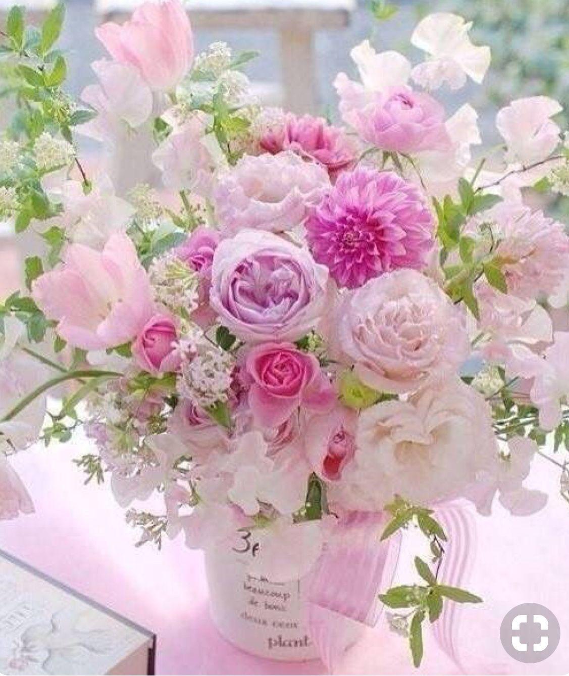 Открытки нежные цветы с днем рождения