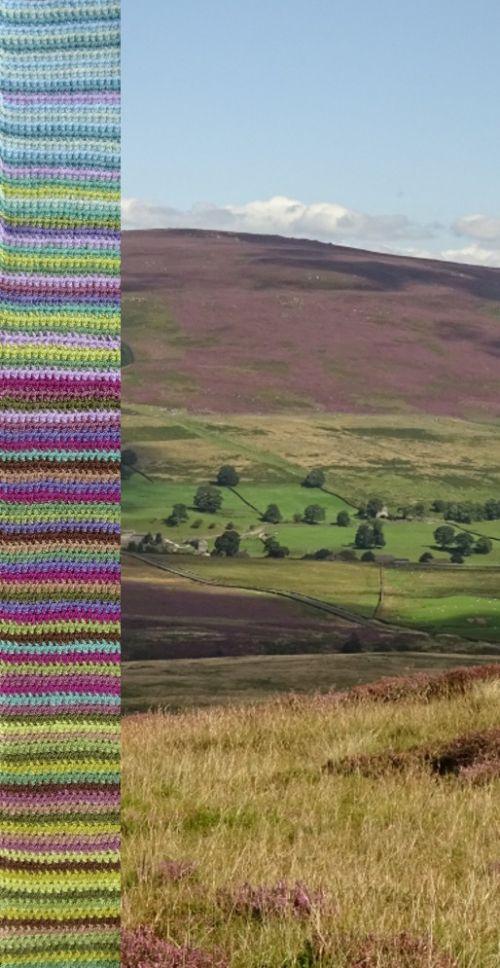 Moorland Blanket Cal Introduction Attic 24 Attic 24 Crochet Striped Crochet Blanket