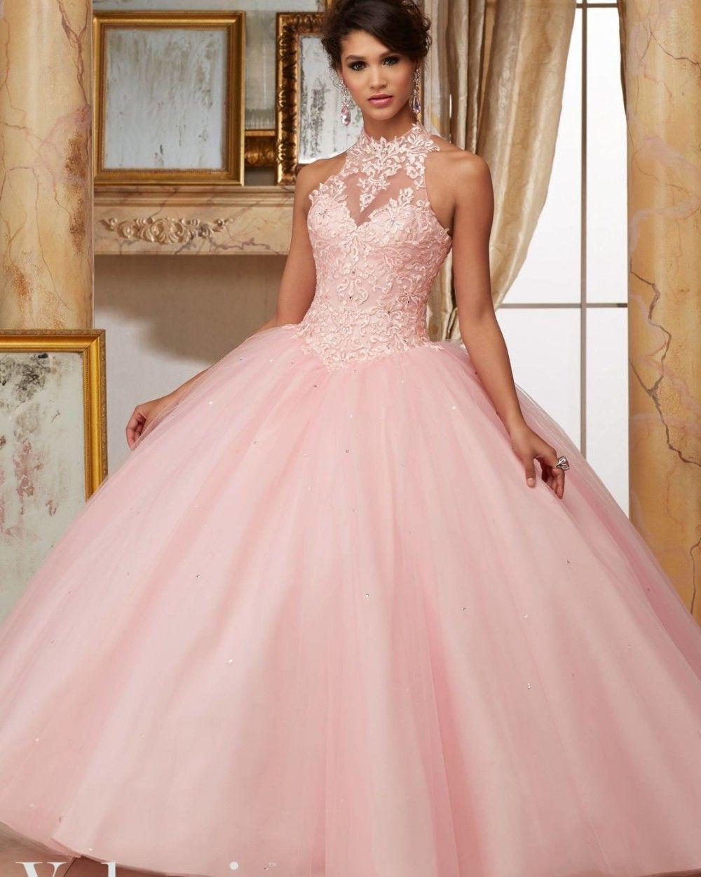Resultado de imagen para pretty light pink quinceanera dresses 2016 ...