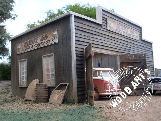 Dioramas theme route 66 garage service co ltd for Garage route 66 metz