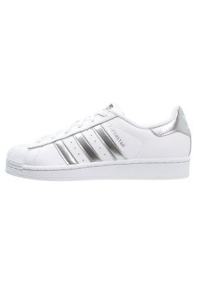 adidas Originals SUPERSTAR - Matalavartiset tennarit - white ...