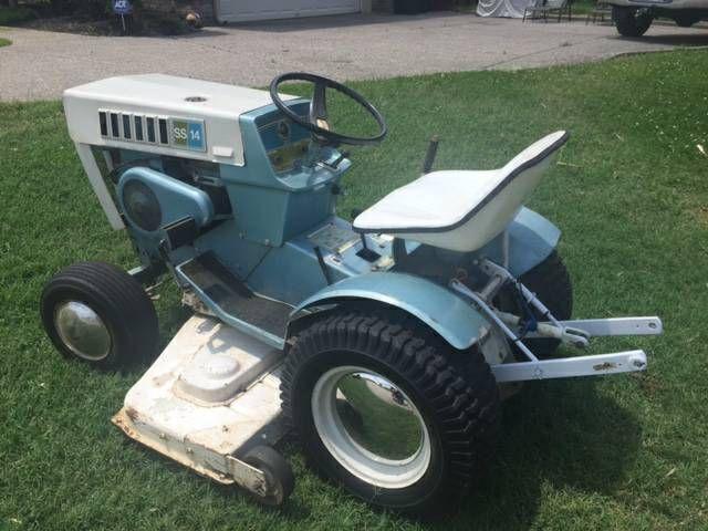 Antique Sears Tractors : Sears garden tractor with hp briggs stratton
