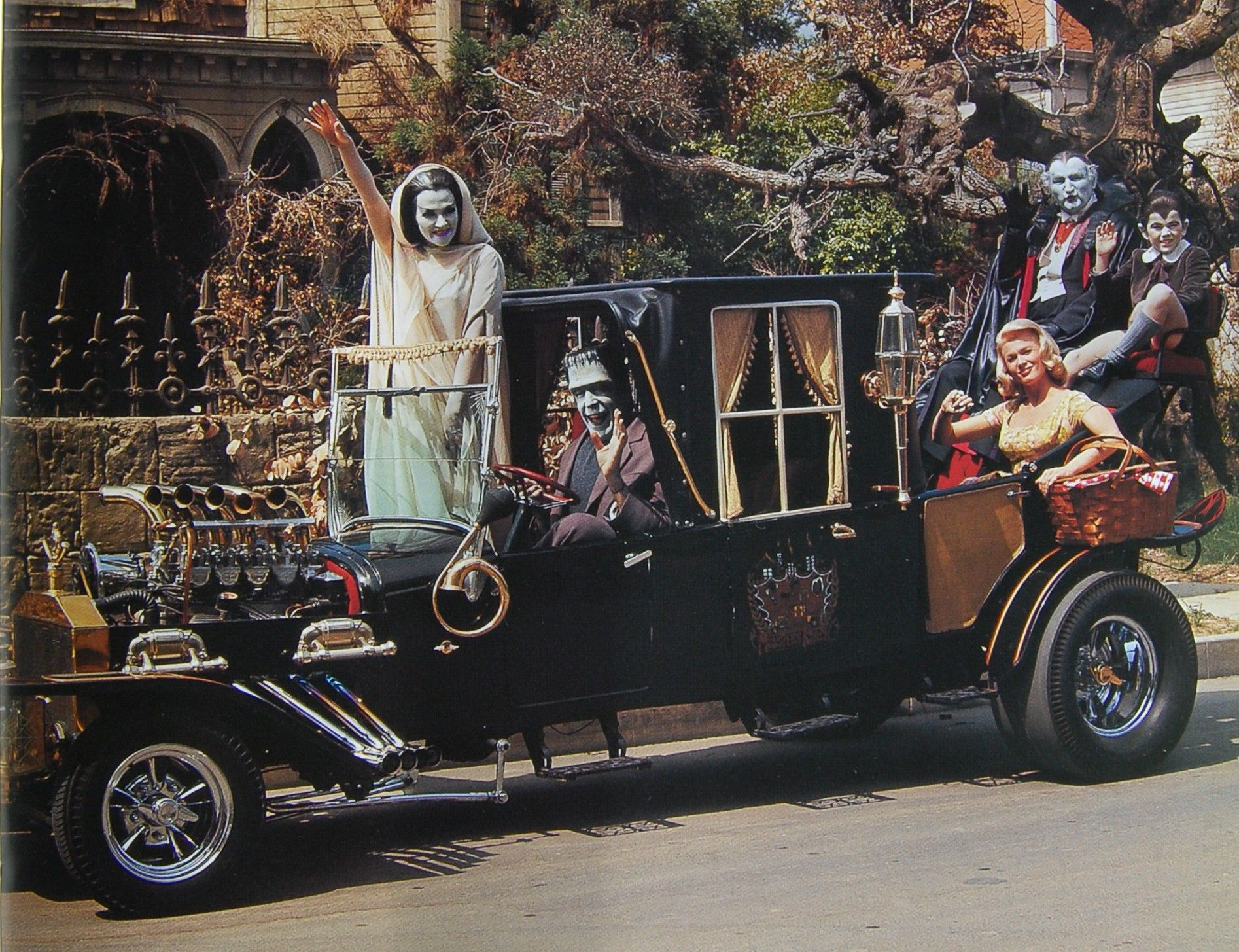 Image result for the munsters cars photos