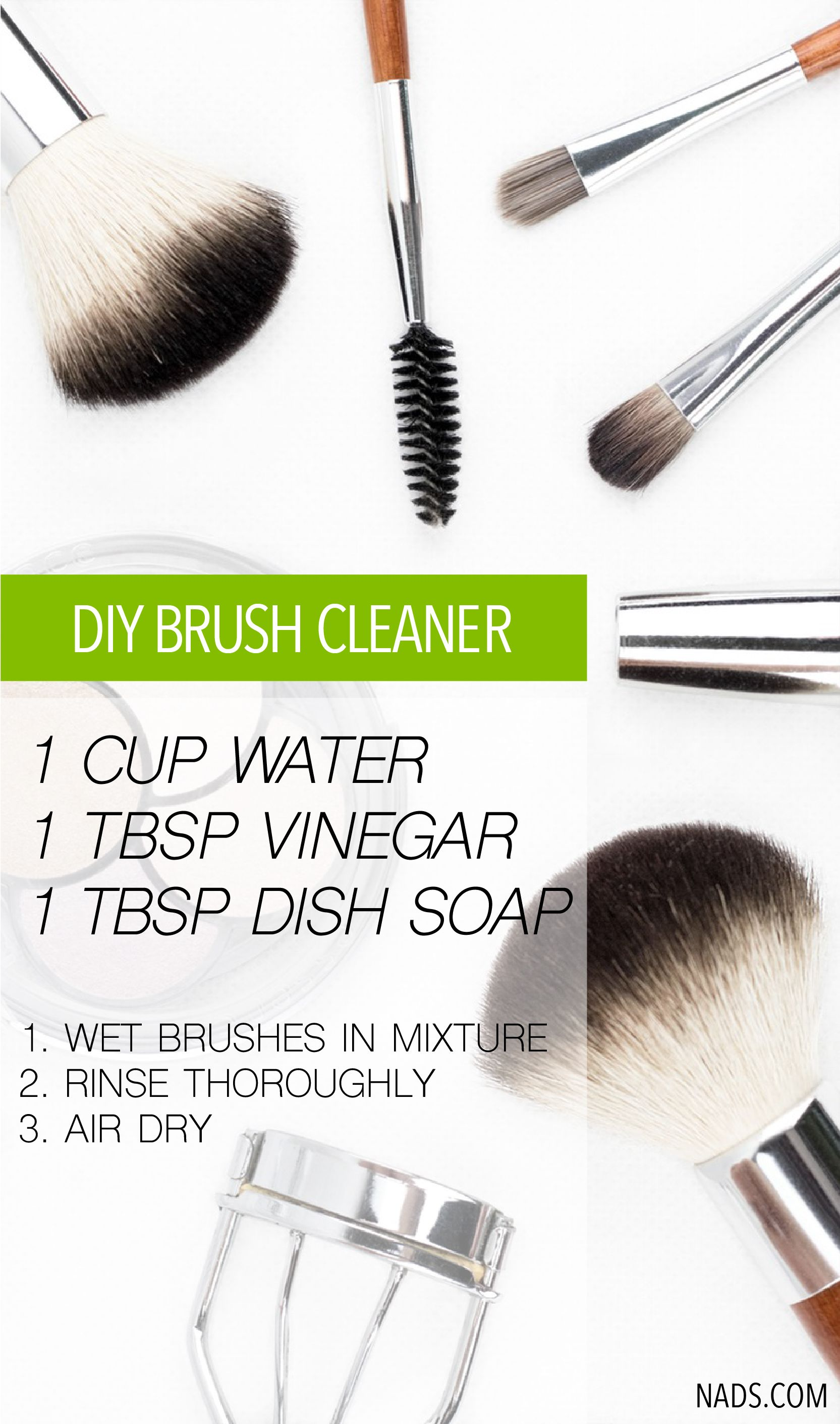 Clean make up brushes your skin will thank you for it! A