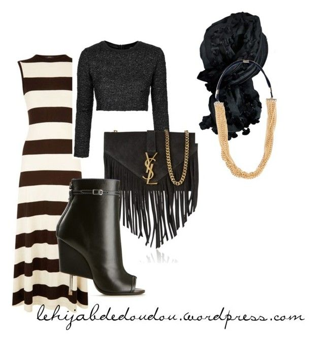 """""""hijab rock outfit"""" by le-hijab-de-doudou liked on ..."""